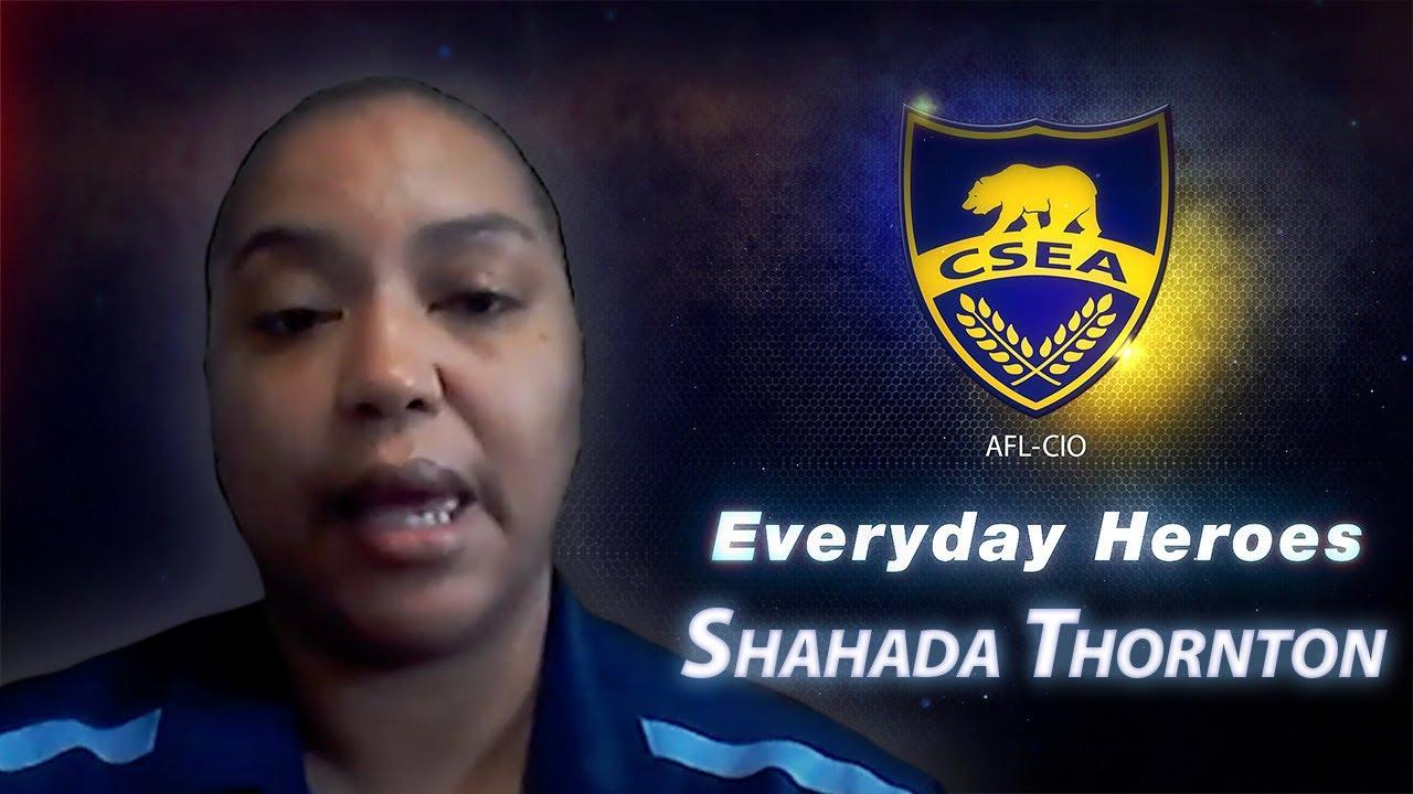 Everyday Hero Shahada Thornton
