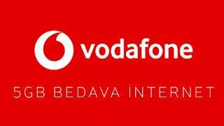 Vodafone Bedava İnternet 5 Gb // Yap Kazan Kanıtlı !! // %100 Oluyor