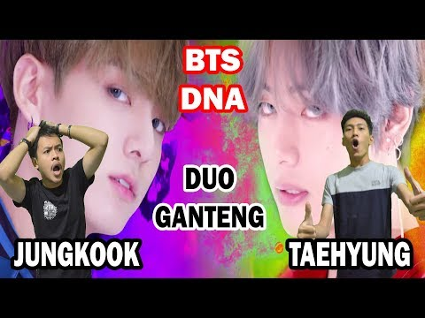 ( JK or V?? ) BTS - DNA MV REACTION | INDONESIA FUNNY FANBOYS