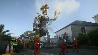 This Enormous 4-Ton Puppet is an Engineering Marvel!
