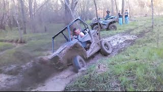 2015 RZR 900 XC Won't Give Up