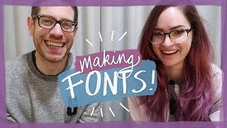 Advice for making fonts - with Ian Barnard