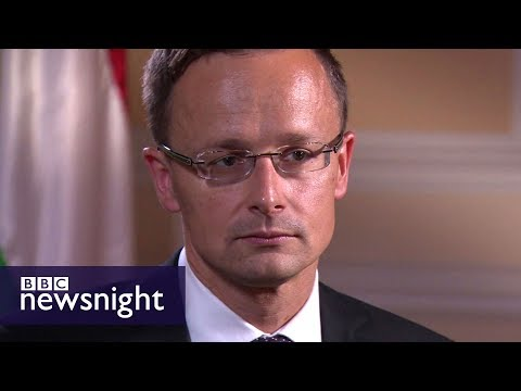 Hungary's Foreign Minister on Russia, Donald Trump and Brexit - BBC Newsnight