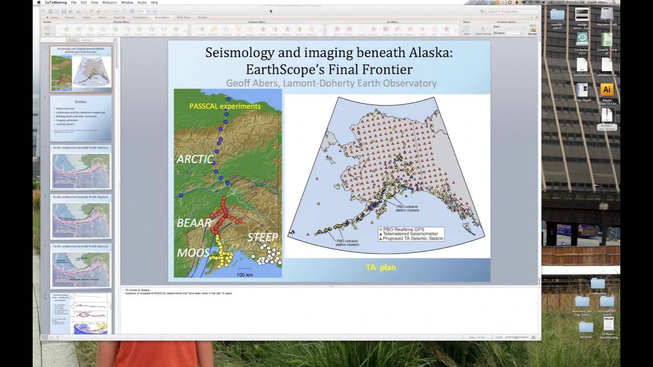 Download Seismology and Imaging Beneath Alaska: EarthScope's Final Frontier