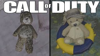 The Evolution of The Teddy Bear Easter Egg (Every Teddy Bear in Every Call of Duty)
