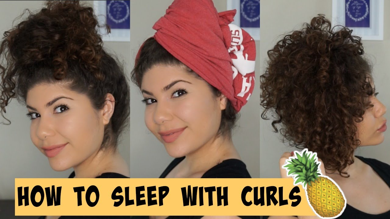 how to make your hair curly overnight without braids
