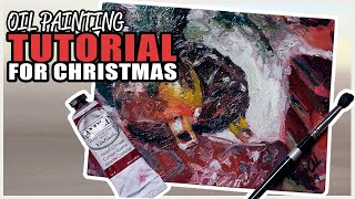 LEARN IMPRESSIONISM - Oil painting for the holidays