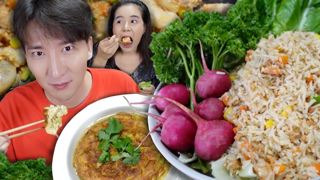 [306] ไข่ทอดซาลาเปา แทบจะทะเลาะกันเพราะข้าวผัดมันกุ้ง !!! : โอปป้า อยู่ที่บ้านนอก▕   RYUNTIME