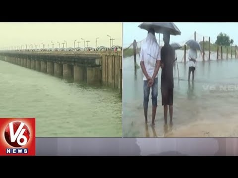 Sriram Sagar Project Water Level Increase With Heavy Inflows | Nizamabad District | V6 News