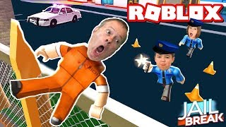 Beginners Play JAILBREAK SEASON 2 ROBLOX (Cops & Robloxers)