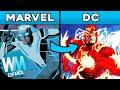¡Top 10 Personajes que MARVEL se ROBÓ de DC!