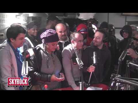 La Radio Libre viennent saluer Alibi Montana & Lim #PlanèteRap