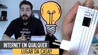 INTERNET pela REDE ELÉTRICA da sua CASA! - POWERLINE D-LINK