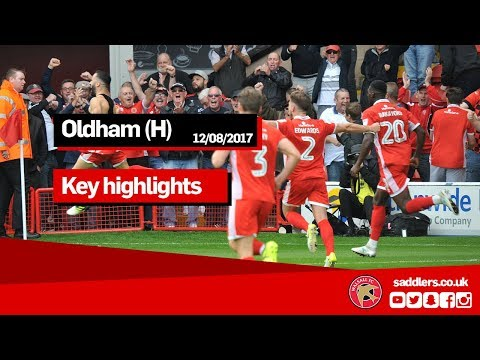 MATCH HIGHLIGHTS | Walsall 2-1 Oldham Athletic