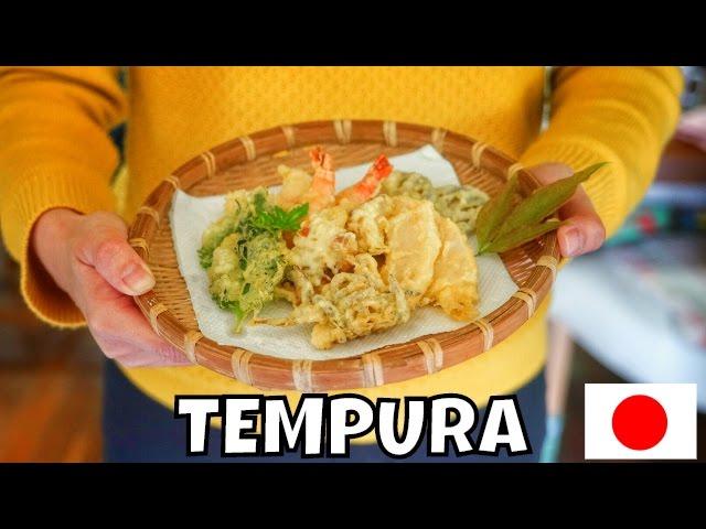 TEMPURA - Come preparare a casa vostra la tipica frittura giapponese