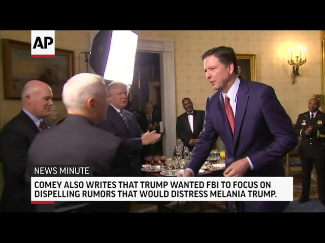Comey Compares Trump To Mob Boss