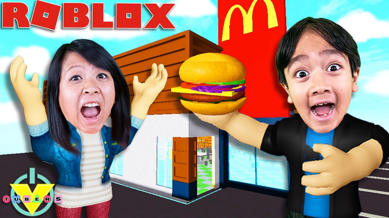 Download Ryan OWNS McDonalds in Roblox Food Tycoon Let's Play with Ryan's Mommy!!
