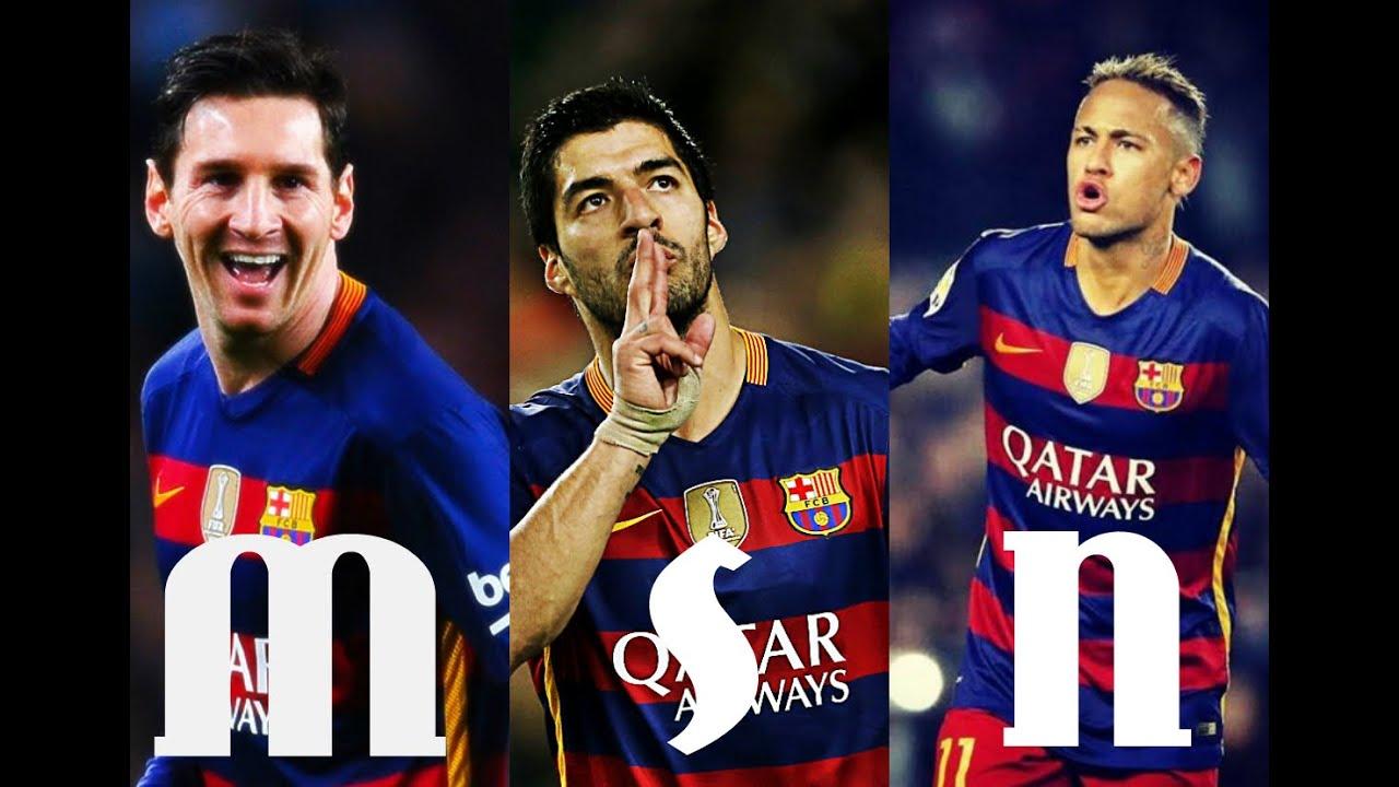 MSN Terror- |Messi Suarez Neymar| Jugadas & Goles 2016