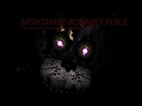 [SFM FNaF] Nightmare Bonnie's Voice
