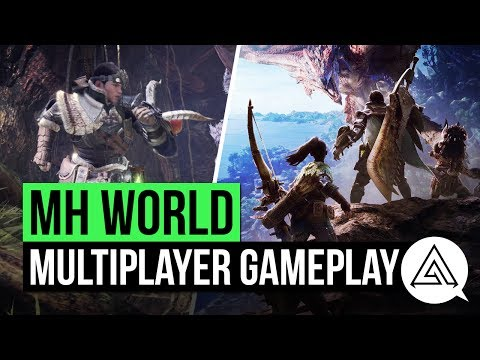 Monster Hunter World Gameplay - Multiplayer Demo