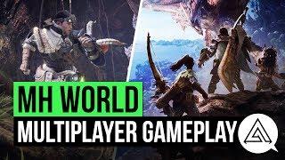 Monster Hunter World Gameplay - Multiplayer Demo