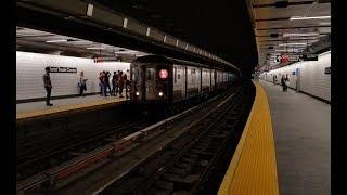 IRT Broadway-7th Ave Line: R62A (1) Train @ New WTC-Cortlandt Street Station