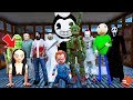 THE SCARIEST MONSTER SCHOOL! (GTA 5 Mods FNAF Kids RedHatter)