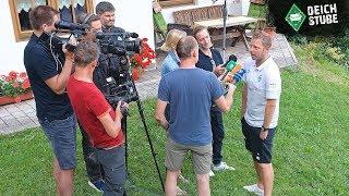 Werder-Coach Kohfeldt zieht Bilanz vom Traininglager im Zillertal