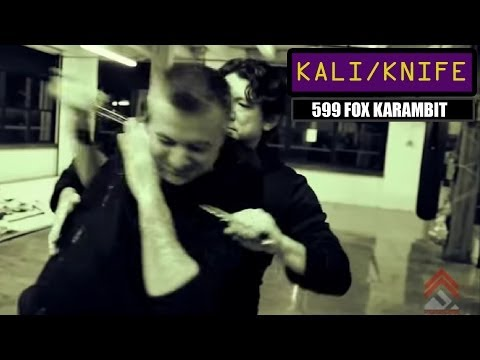 How To Use The 599 FOX Karambit Knife With Doug Marcaida | Part 2 of 4
