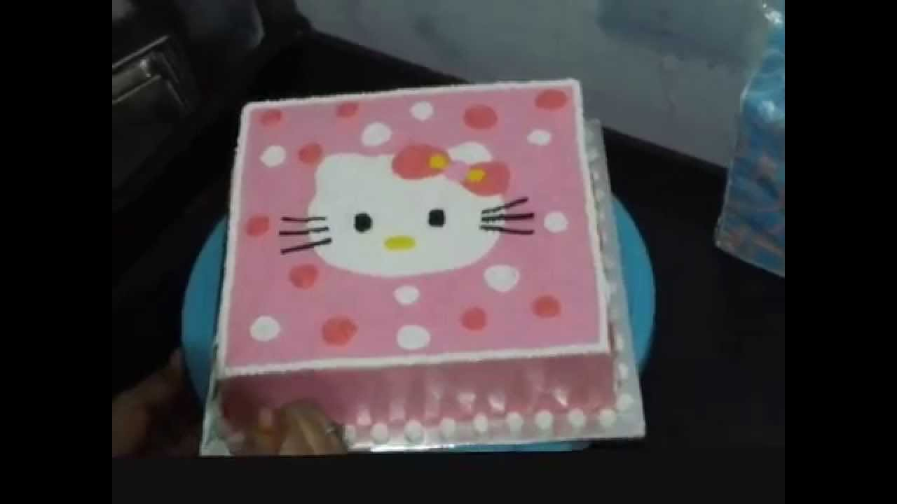 How to Make Hello Kitty Cake Simple Unique YouTube