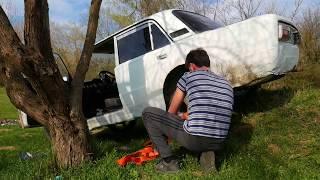 Подготовка авто для рыбалки. Тест 2106 на бездорожье