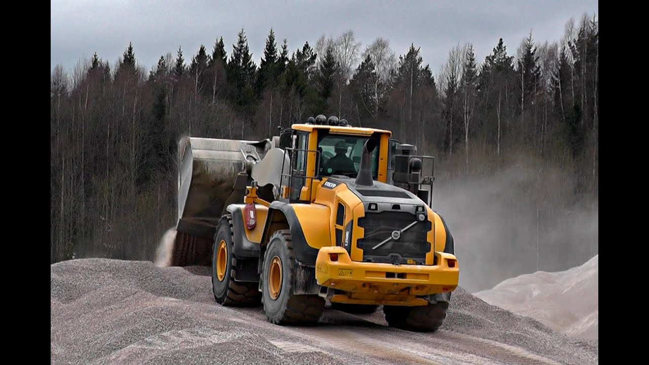 Volvo L250G With OptiShift