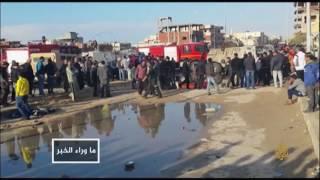 قتلى من الشرطة المصرية بانفجار في شارع الهرم