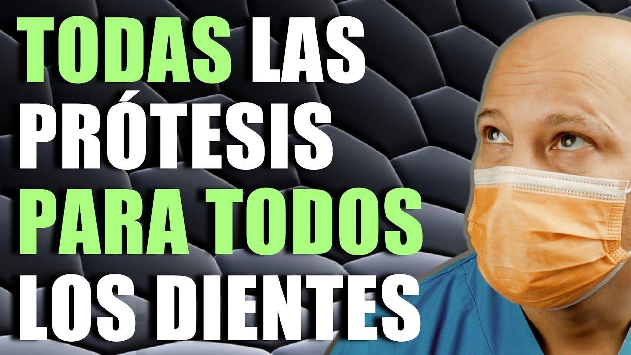 TIPOS DE PRÓTESIS DENTALES PARA TODOS, REMOVIBLES, FIJAS, BARATAS Y CARAS