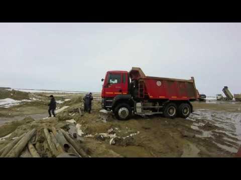 #ремонт MANa . Забитый глушитель. Поездка в Сургут