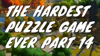 The hardest puzzle game the witness 14