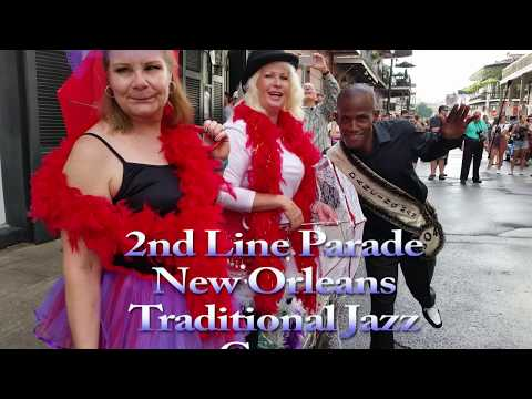 New Orleans Traditional Jazz Camp 2nd line 2017