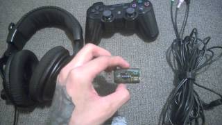 how to use the xbox turtle beach x12 on the ps3