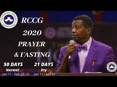 DAY 2 - RCCG 2020 PRAYER & FASTING