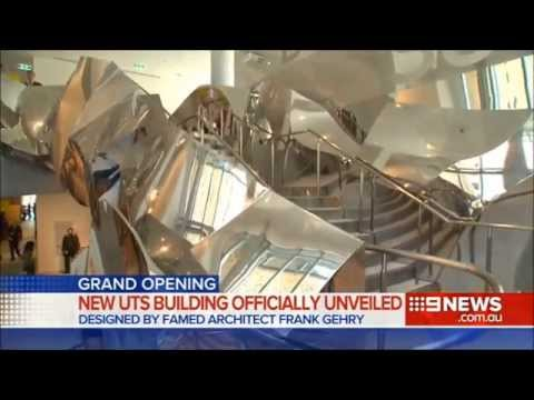 Nine News Sydney: Dr Chau Chak Wing Building opens (2/2/2015)