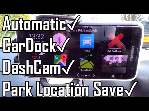 Ultimate Android Car Setup: Auto Car Dock, Dash Cam Record & Park Location Save! Beats Android Auto!