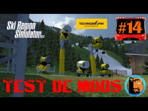 ski r gion simulator 2012 test de mods 14 canons neige youtube. Black Bedroom Furniture Sets. Home Design Ideas