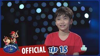 vietnam idol kids 2017 - quốc đạt có lời nhắn nhủ trước gala trao giải