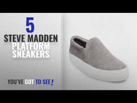 Top 5 Steve Madden Platform Sneakers [2018]: Steve Madden Women's Gills Fashion Sneaker, Grey
