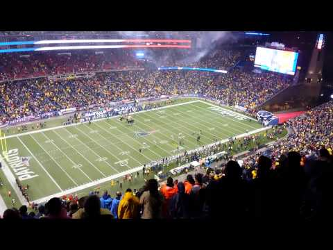 Colts vs Patriots Divisional Playoffs 2014