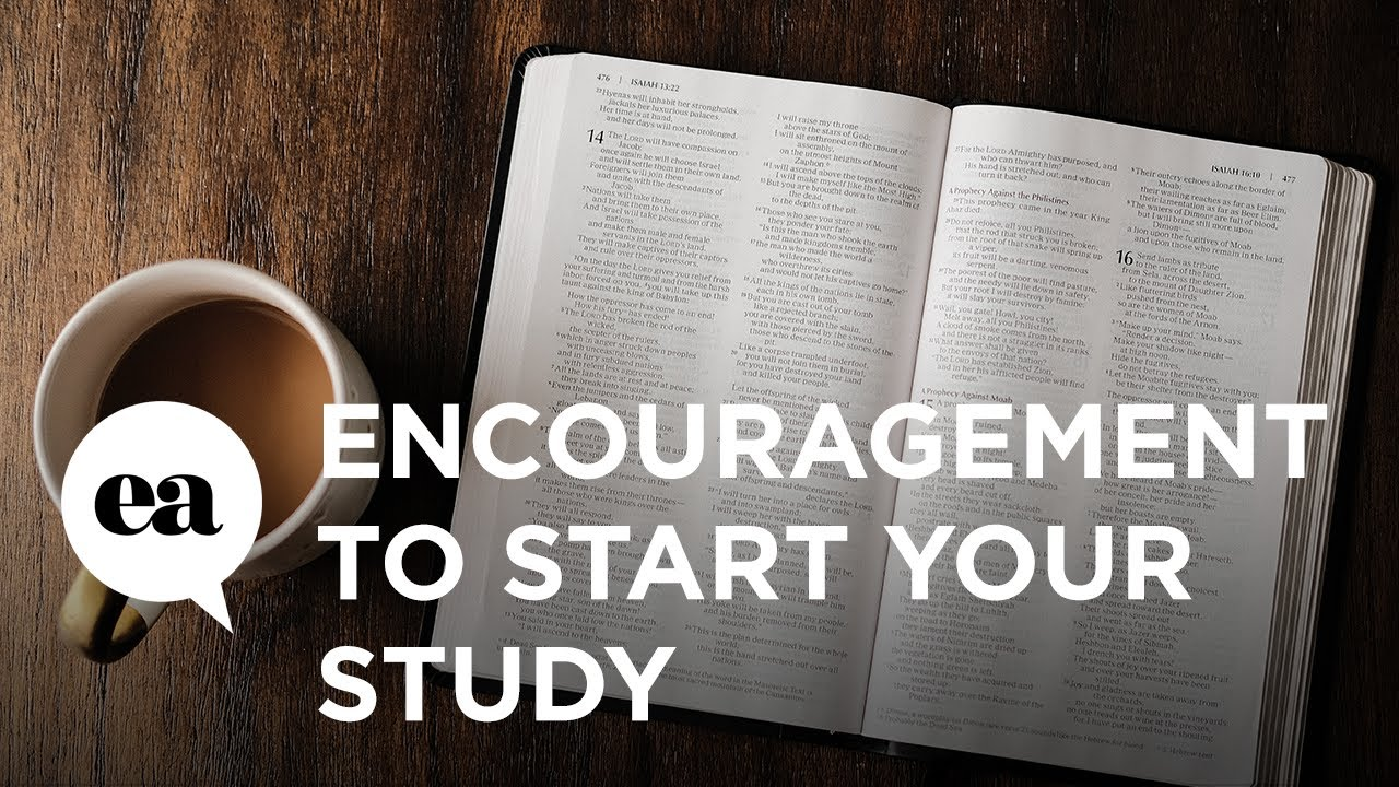 Encouragement to Start Your Study | How to Study the Bible with Joyce Meyer