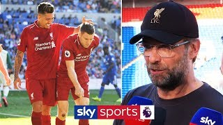 Jurgen Klopp on Mo Salah penalty, Wijnaldum's stunner and the title race!