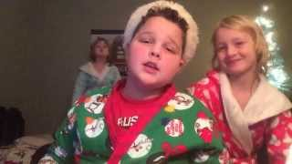 """Lip Sync of """"White Christmas"""" by Michael Bublé and Shania Twain"""