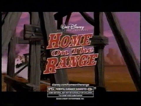 Disney's Home on the Range TV Spot (2004)