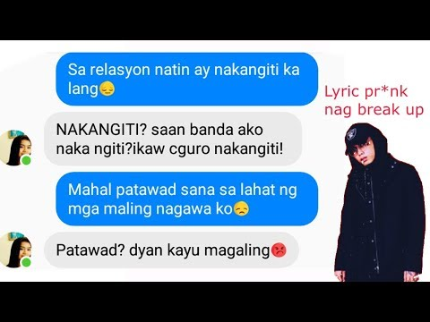 WAG KA NANG MAGALIT by(SKUSTACLEE) LYRIC PR*NK to EX